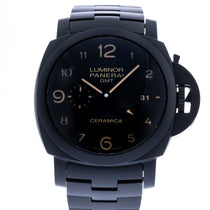 Panerai Tuttonero Luminor 1950 3 Days GMT Ceramica Limited Edition PAM 438