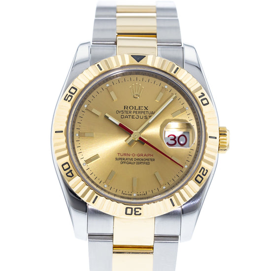 Rolex Datejust Turn-O-Graph Thunderbird 116263