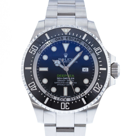 Rolex Sea-Dweller Deepsea James Cameron Deep Blue 116660