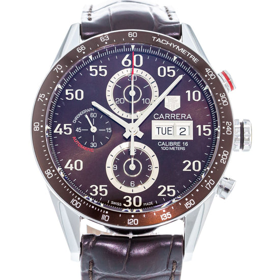 TAG Heuer Carrera Calibre 16 Day-Date Chronograph CV2A12