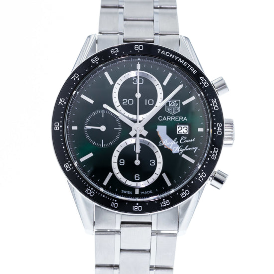 TAG Heuer Carrera Calibre 16 Chronograph California Pacific Coast Highway Limited Edition CV201N