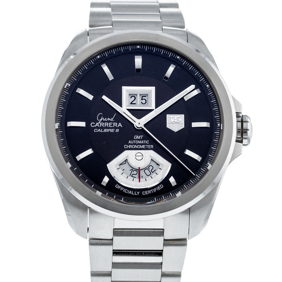 TAG Heuer Grand Carrera Calibre 8 Grande Date GMT WAV5113