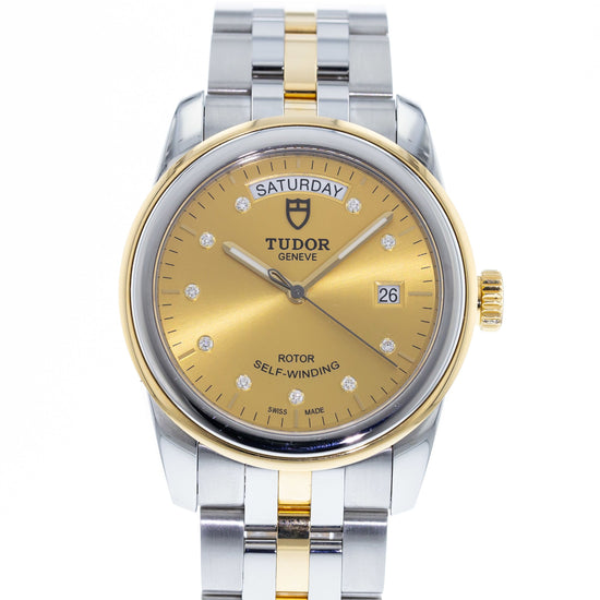 Tudor Glamour Day-Date 56003