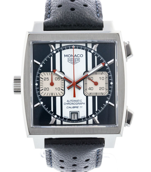 TAG Heuer Monaco McQueen Chronograph Steve McQueen Limited Edition CAW211D