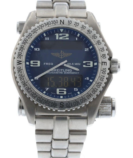 Breitling Emergency Superquartz E76321