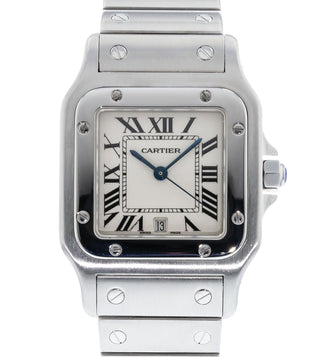 121b66fa0a94 Authentic Used Cartier Santos Galbee W20060D6   1564 Watch (10-10 ...
