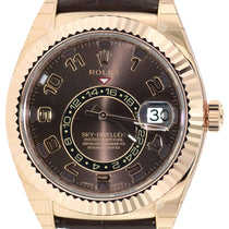 Rolex Sky-Dweller Chocolate 326135