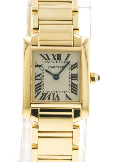 Cartier Ladies' Tank Francaise W50002N2 / 2385