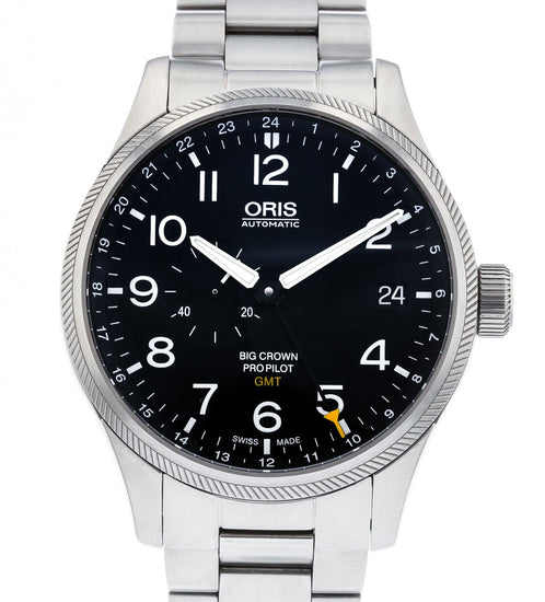 Oris Big Crown ProPilot Date GMT 748-7710-4164MB