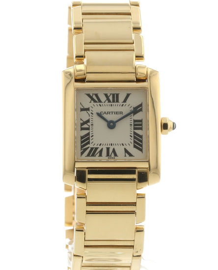 Cartier Ladies' Tank Francaise W50002N2 / 1820