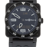 Bell & Ross Aviation Carbon BR03-88-S