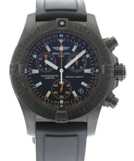 Breitling Avenger Seawolf Chrono Blacksteel Limited Edition M73390