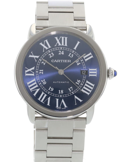 Cartier Ronde Solo Blue WSRN0023