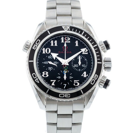 OMEGA Seamaster Planet Ocean 600M Co-Axial Olympic Chronograph 222.30.38.50.01.003