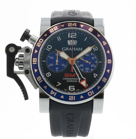 Graham Chronofighter Oversize 2OVGS.B26A.C89S
