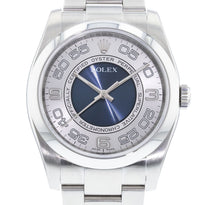 "Rolex Oyster Perpetual ""Blue Concentric"" 116000"