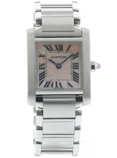 Cartier Tank Francaise Mother of Pearl W51028Q3 / 2384