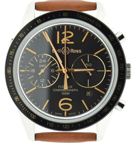 Bell & Ross  Vintage Flyback GMT Chronograph BRV126-FLY-GMT/SCA