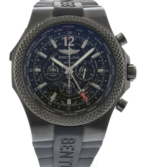 Breitling Bentley GMT Midnight Carbon M47362