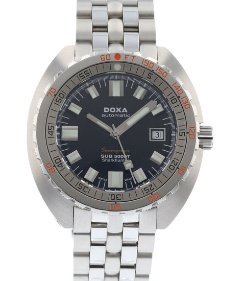 Doxa Sharkhunter Military Sub (Navy) 5000T