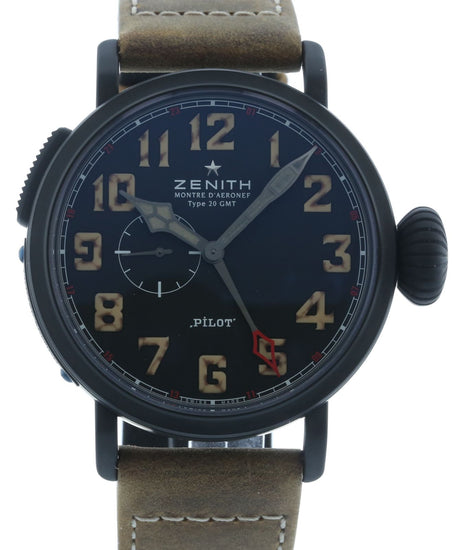 Zenith Pilot Montre d'Aeronef Type 20 GMT Limited Edition 96.2431.693/21.C738