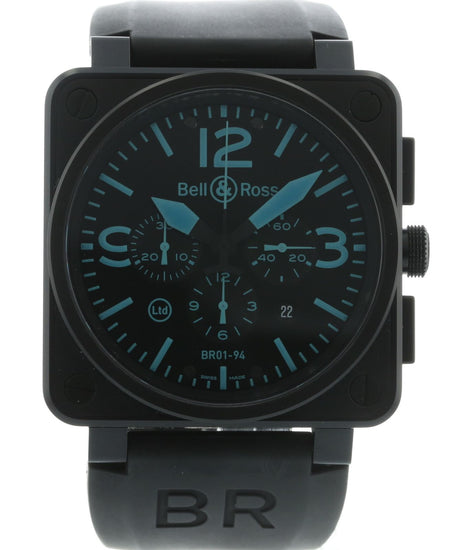 Bell & Ross Chronograph Blue Limited Edition BR01-94