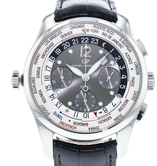 Girard-Perregaux WW.TC Financial Chronograph Limited Edition 49805-11-254-BA6A