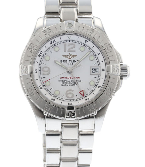 Breitling SuperOcean Steelfish GMT Limited Edition A32360