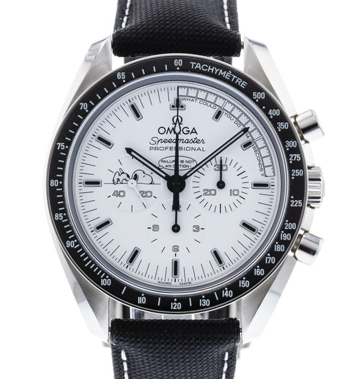 OMEGA Speedmaster Professional Moonwatch Apollo XIII 45 Anniversary Silver Snoopy Award Limited Edition 311.32.42.30.04.003
