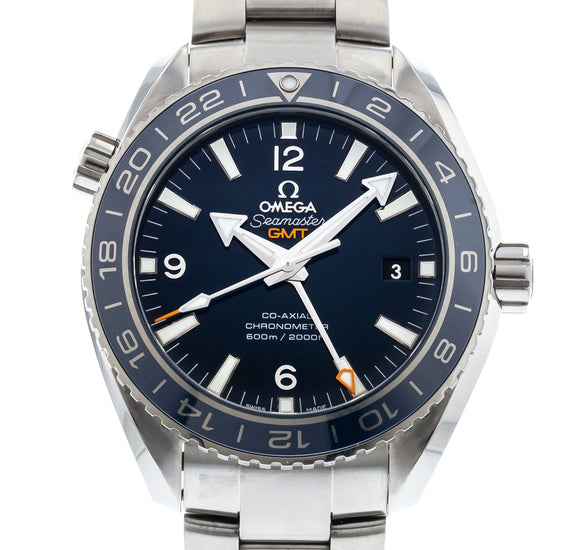 OMEGA Seamaster Planet Ocean 600M Omega Co-Axial GMT 232.90.44.22.03.001