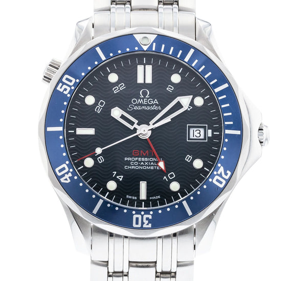 OMEGA Seamaster Diver 300M Co-Axial GMT 2535.80.00
