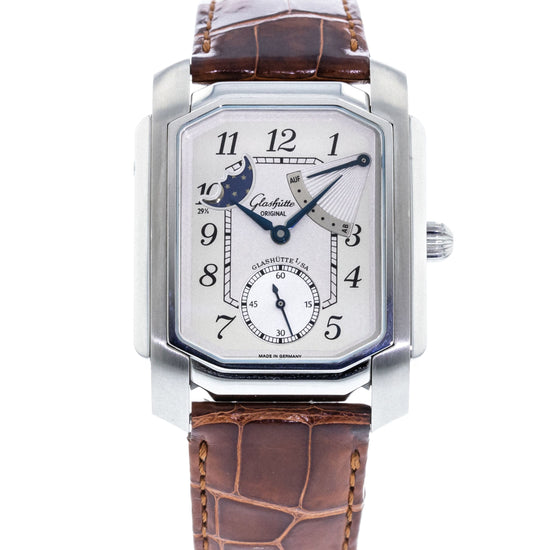 Glashutte Original Karree Moon Phase 42-03-01-01-04