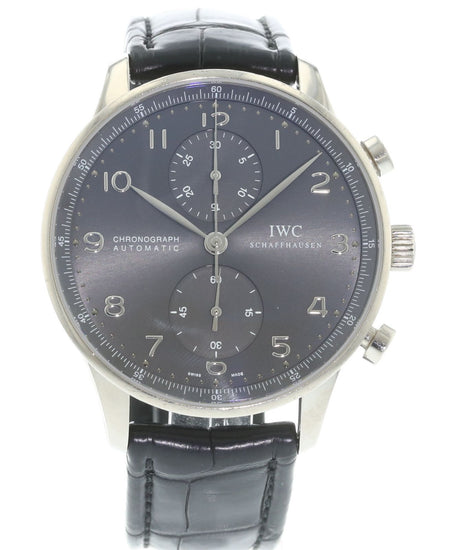 IWC Portuguese Chronograph Automatic 18k White Gold IW3714-31