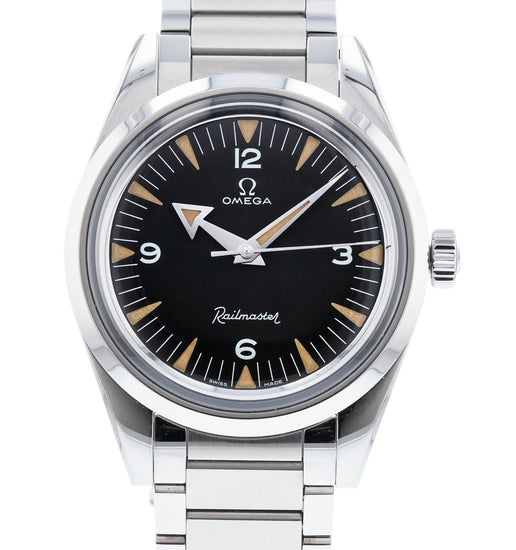 OMEGA The 1957 Trilogy 60th Anniversary Railmaster Limited Edition 220.10.38.20.01.002
