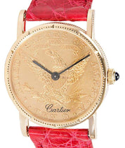 Cartier $10 Coin Vintage Ladies' Watch