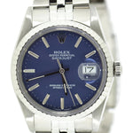 Rolex Datejust Blue Dial 16030