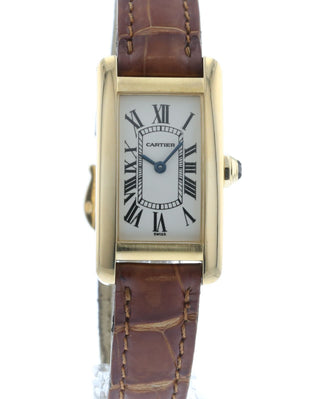 the best attitude 642fe 82bb2 Cartier Tank Americaine W2601556
