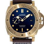 "Panerai Luminor Submersible 1950 3 Days Automatic ""Blue Bronzo"" Limited Edition  PAM 671"