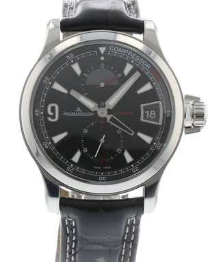 ff55fa0c984 Authentic Used Jaeger-LeCoultre Master Compressor GMT 146.8.05 Watch ...