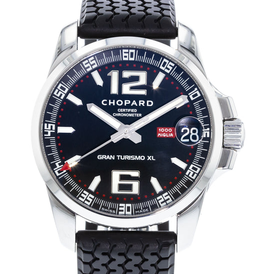 2c75a2d4144 Authentic Used Chopard Mille Miglia Gran Turismo XL 168997-3001 ...