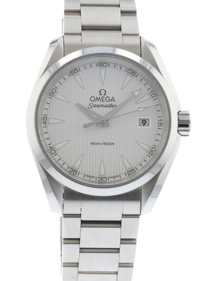 OMEGA Paralympic Silver Opal 522.10.39.60.02.002