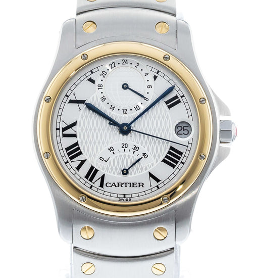 Cartier Santos Ronde Aviator 150th Anniversary Limited Edition W20038R3 / 0470