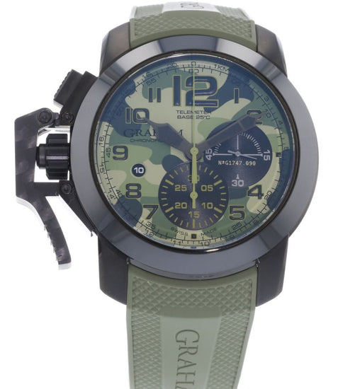 Graham Chronofighter Oversize Black Arrow Celcius 2CCAU.G02A.K94N