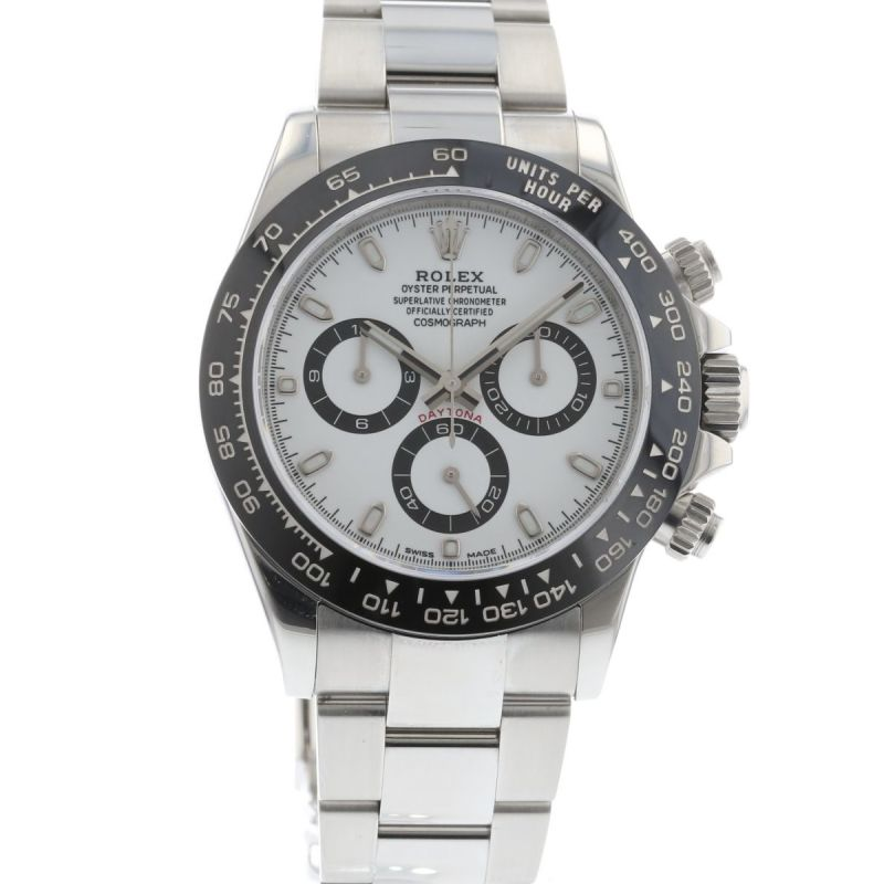 authentic used rolex cosmograph daytona 116500 watch. Black Bedroom Furniture Sets. Home Design Ideas