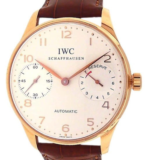 IWC Portuguese 7 Days Power Reserve IW500004