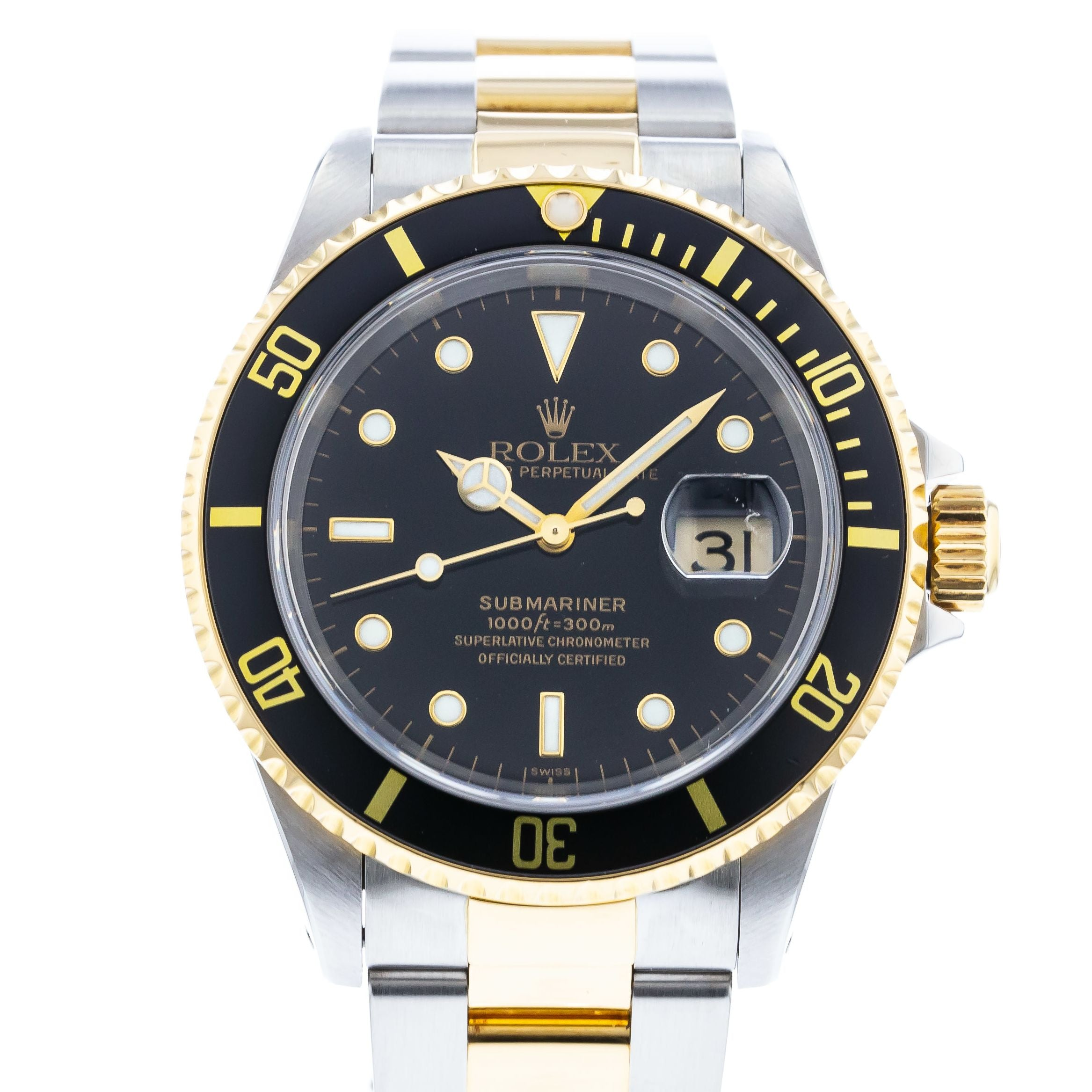 94848858efe Authentic Used Rolex Submariner 16613 Watch (10-10-ROL-GHS5EF)