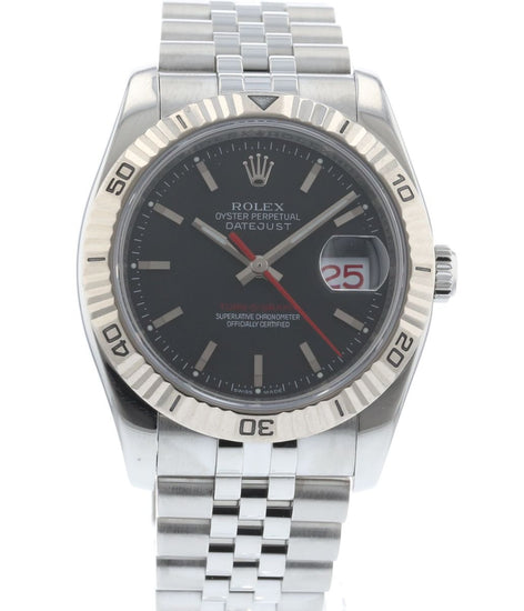 Rolex Datejust Turn O Graph 116264