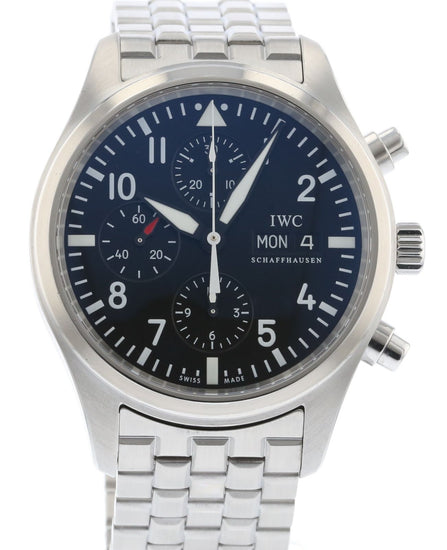 IWC Classic Pilot's Automatic Chronograph IW3717-04