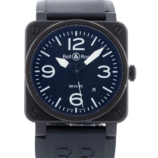 Bell & Ross Aviation Matte Black BR03-92