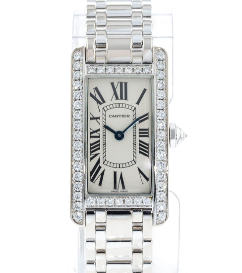 Cartier Tank Americaine WB7073L1 / 2489